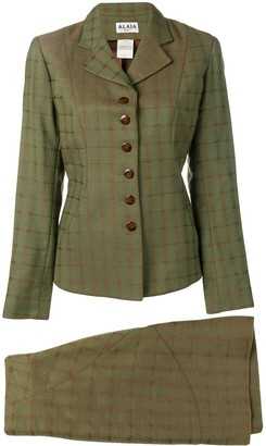 Alaia Pre Owned skirt and jacket suit