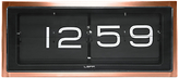 LEFF Amsterdam 24 Hour Brick Clock, Copper