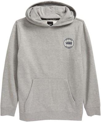 Vans Kids' Authentic Checker Fleece Graphic Hoodie