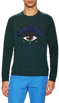 Kenzo Eye Embroidered Crewneck Sweatshirt