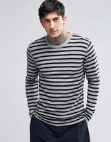 Minimum Striped Long Sleeve T-shirt