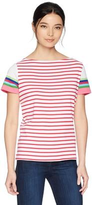 Rafaella Women's Petite Stripe Knit Top