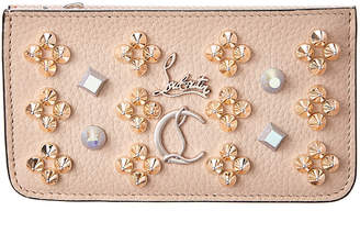 Christian Louboutin Credilou Leather Card Holder