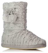 George Faux Fur Slipper Boots