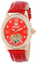Ingersoll Women's IN5011RRD Punca Analog Display Automatic Self Wind Red Watch