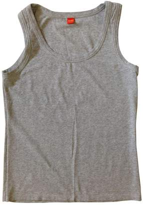 BOSS ORANGE \N Grey Cotton Top for Women