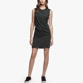 James Perse Jersey Tucked Dress
