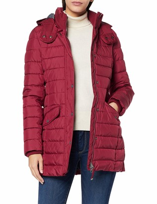 Marc O'Polo Women's 71051 Short Coat Slow Down no Down Quilted Casual Style Winter Jacket Made from Ultra Material