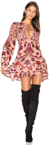 For Love & Lemons Saffron Mini Dress