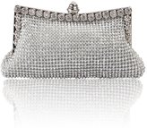 Hynes Victory Diamante Evening Clutch