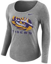 Nike Women's Lsu Tigers Tri Blend Logo T-Shirt