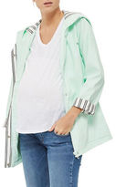 Topshop MATERNITY Hooded Rain Mac Coat