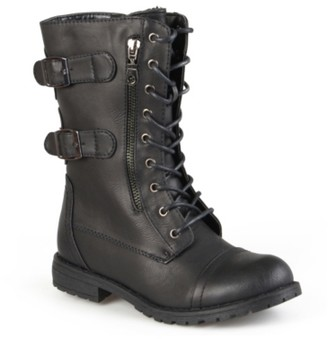 Journee Collection Cedes Combat Boot