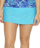 St. Tropez Turquoise Skirted Bikini Bottoms