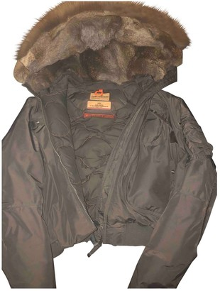 Parajumpers Brown Fox Coat for Women
