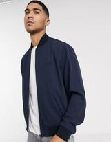 Calvin Klein twill bomber jacket-Navy