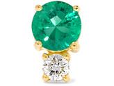 Jemma Wynne - 18-karat Gold, Emerald And Diamond Earring