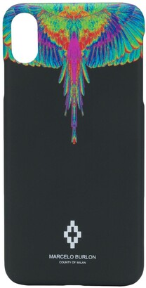 Marcelo Burlon County of Milan wings-print iPhone XS Max case