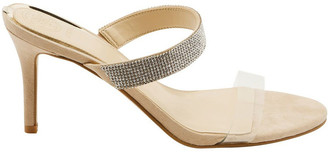 GUESS Adanr2 Blush/Clear Heeled Shoes