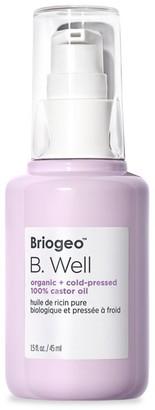 BRIOGEO B.Well Organic + Cold-Pressed Castor Oil