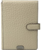 Lodis Borrego RFID Under Lock & Key Passport Wallet with Ticket Flap
