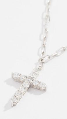 Shay 18k Diamond Cross Necklace