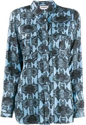 Essentiel Antwerp snake print shirt