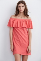 Ithaca Off The Shoulder Cotton Dress