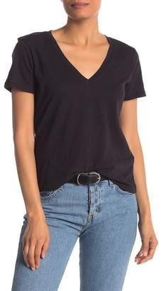 Madewell Short Sleeve V-Neck T-Shirt (Regular & Plus Size)
