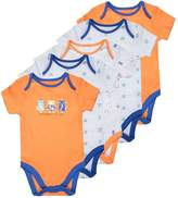 Mothercare BOYS ROBOTS BABY 5 PACK Body orange