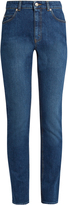 Alexander McQueen High-waisted skinny jeans