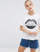 Monki Run Boys Print Tee