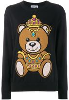 Moschino teddy intarsia jumper - women - Cotton - XS