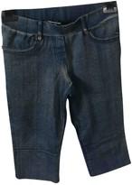 Plein Sud Jeans Blue Trousers for Women