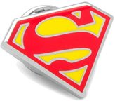 Cufflinks Inc. Enamel Superman Shield Lapel Pin