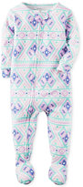 Carter's 1-Pc. Fair Isle-Print Footed Pajamas, Baby Girls (0-24 months)