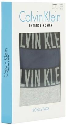 Calvin Klein Kids Intense Power Trunk Boxers (Pack Of 2)