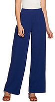 Denim & Co. As Is Beach Regular Solid Pull-On Pants with Pockets