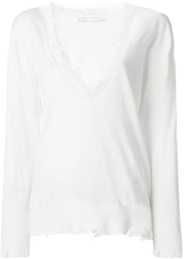 IRO Pao knitted blouse