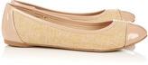 Wallis Nude Flat Shoe