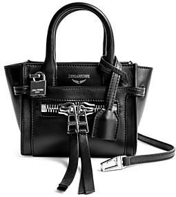 Zadig & Voltaire Candide Nano Leather Handbag