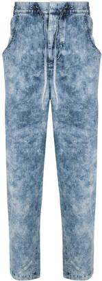 Isabel Marant Elasticated-Waist Stonewashed Jeans