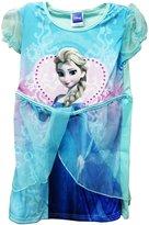 Disney Princess Frozen Elsa Girls Blue Party Tutu Dress-3-4 Years