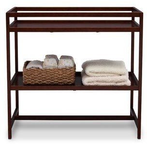 Isabelle & Max Christie Changing Table Color: Dark Chocolate