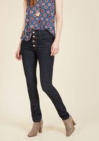 ModCloth Karaoke Songstress Jeans in Dark Wash in 1
