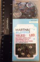 Martha Stewart Living - 18 Led Battery-operated Snowman Lights | 4.5' Lighted