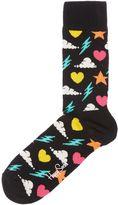 Happy Socks Storm Patterned Socks