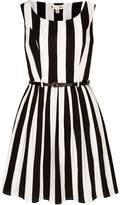 Yumi Stripe Print Skater Dress