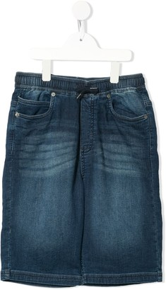 Molo TEEN Ali drawstring denim shorts