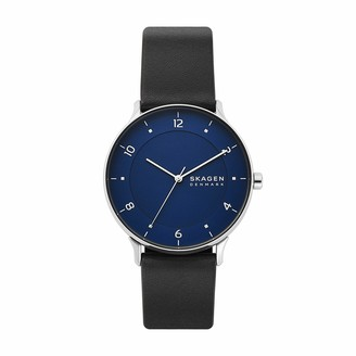 Skagen Men's RIIS Quartz Analog Stainless Steel and Stainless Steel Watch